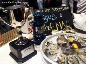 Oyster Shucking Battle Trophy