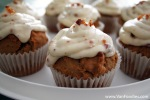 Pumpkin Cupcake with Maple & Bacon Icing