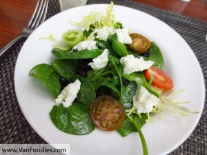 Tender Baby Spinach Salad