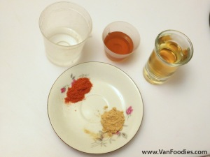 Home Remedy Ingredients