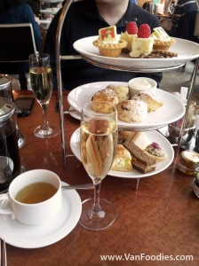 Globe @ YVR - Afternoon Tea at the Fairmont Airport