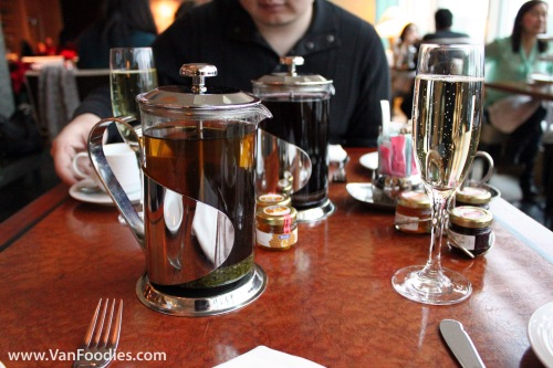 Modern Tea Pot & Sparkling Wine