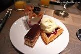 Assortment of desserts