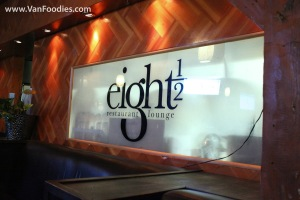 VANEATS package at eight 1/2 Restaurant & Lounge