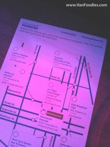 Map that guides you through downtown