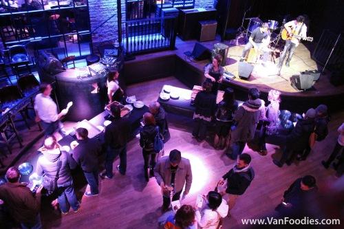 Live entertainment at Vancouver Fan Club