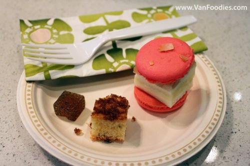 Tasting Plate at Soirette Macaron & Tea