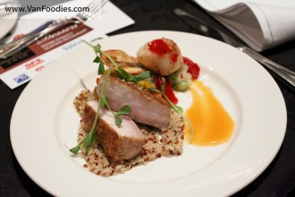 Sous Vide Sword Fish and Seared Scallop