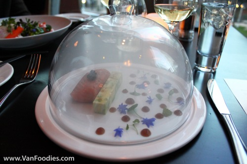 Salmon in a Smoky Dome