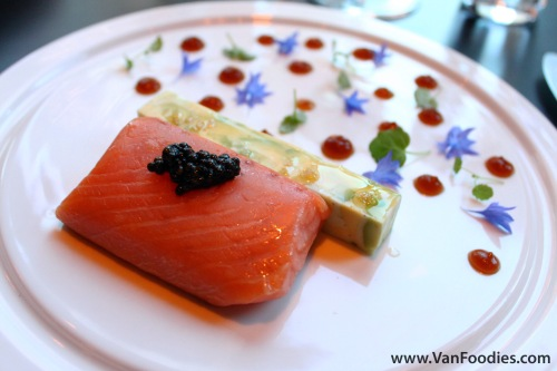 A La Minute Smoked Skuna Bay Salmon