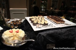 Assortment of chocolate desserts