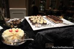 Assortment of chocolate desserts