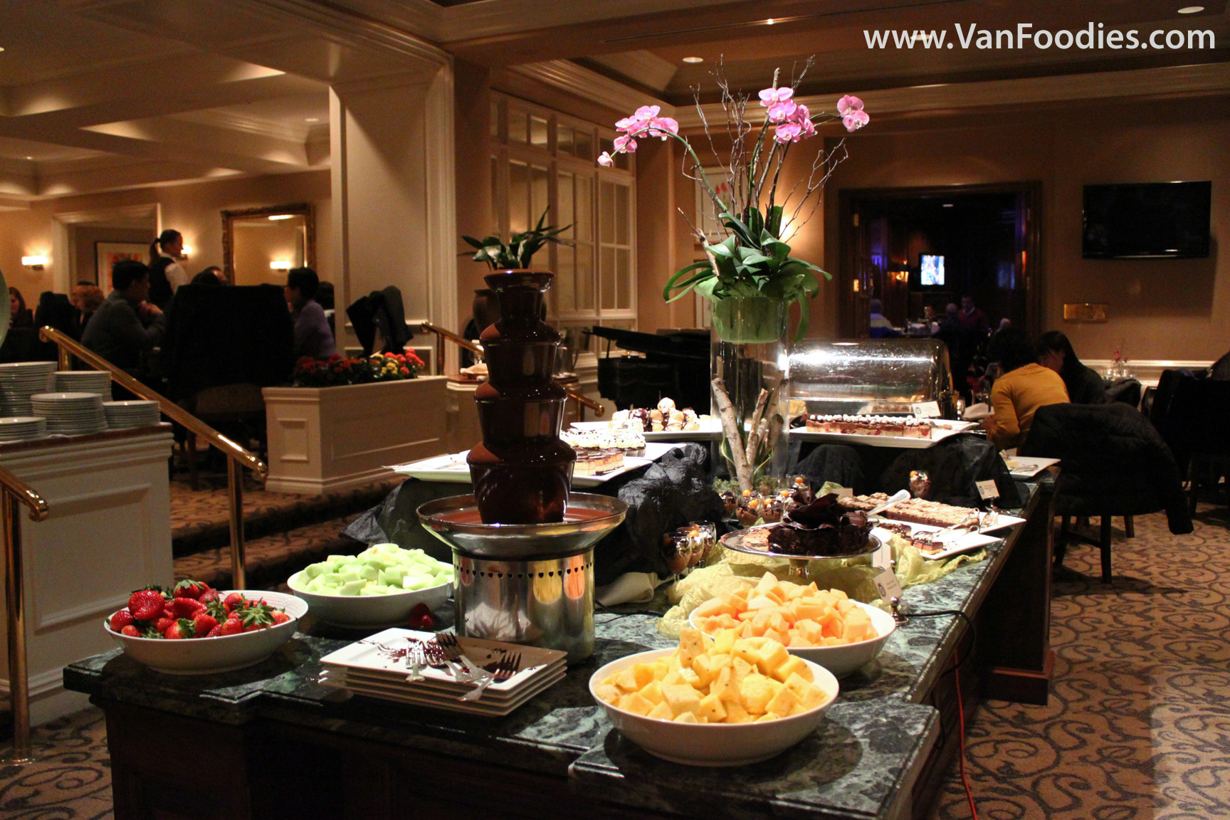 World Famous Chocolate Buffet at Sutton Place | VanFoodies.com