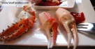 Various crab claws