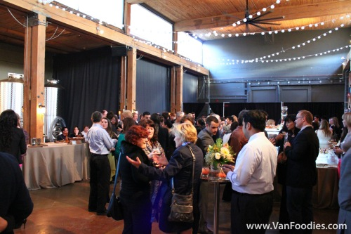 Railtown Catering Launch event at Vancouver Urban Winery