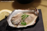 Village Bay Oyster with cucumber mignonette