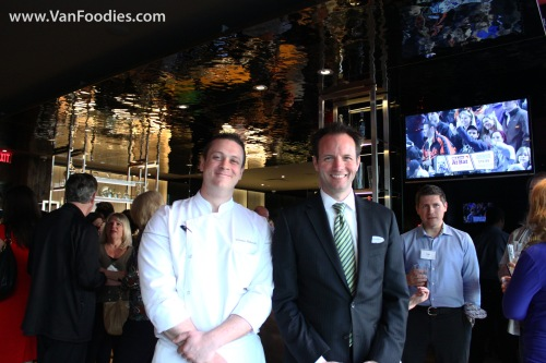 Chef Thomas Heinrich and Director of Food & Beverage Michael Halloran