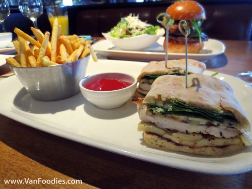 Grilled Chicken and Baked Brie Ciabatta