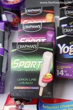 Chapman's Sport Popsicles