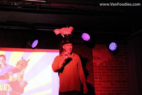 Bob attempts Flying Pig