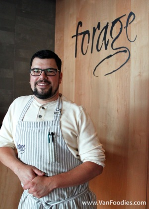 Chef Chris Whittaker, Forage Vancouver