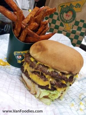 Triple Triple Burger Combo