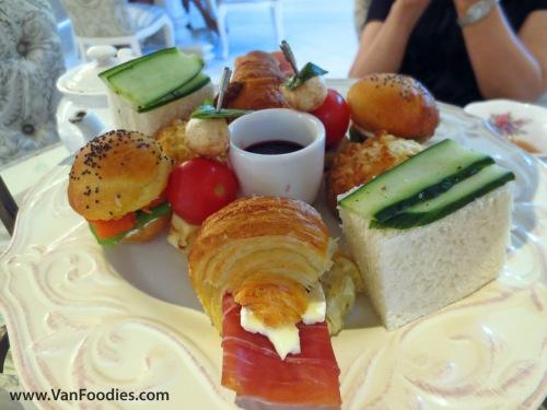 Plate of savouries