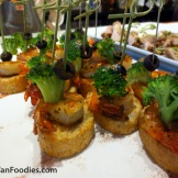 Shrimp on Crostini