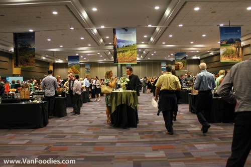 A sold out event featuring close to 100 BC wineries