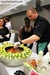 Food prep at Sol Sun Belt CookeryStation