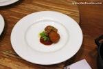 ORU – Smoked sablefish & Village Farmstomato