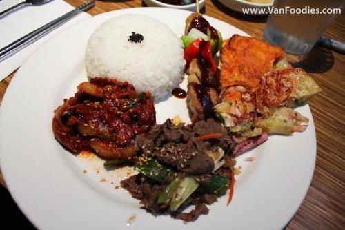 Korean Platter