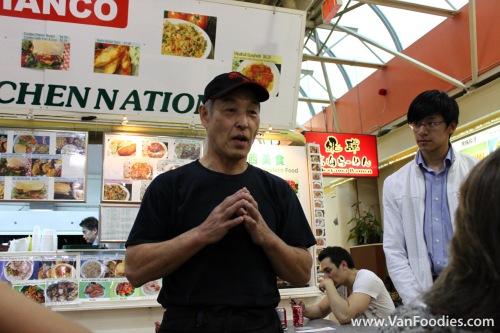 Hida Takayama's owner Mike Asaoka