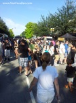 Crowd at Columbia StrEAT
