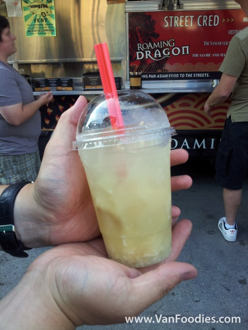 Roaming Dragon's Lychee Basil Lemonade