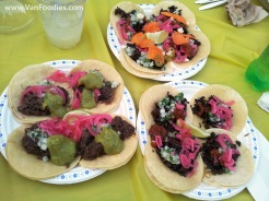 La Taqueria's Meat Tacos
