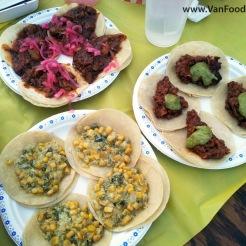 La Taqueria's Veggie Tacos
