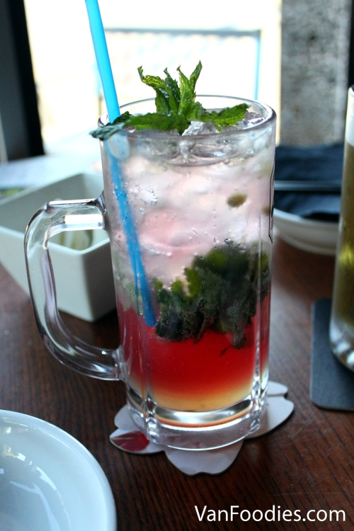 Honey Pom-Pom Mojito