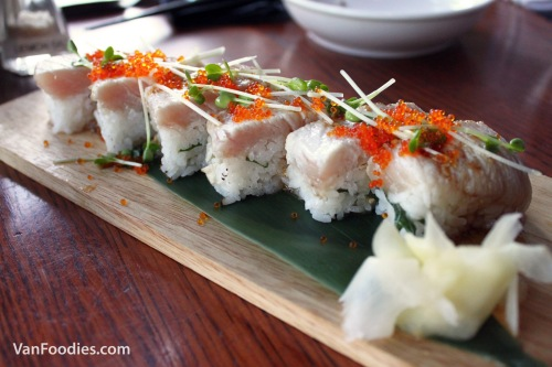 Aburi Yellowtail Sushi
