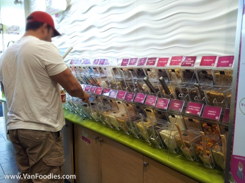 Endless toppings to choose from