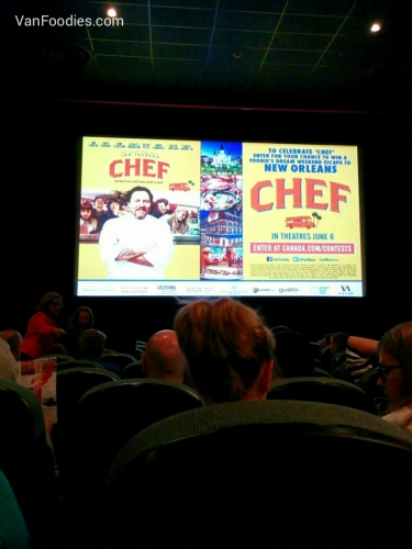 Chef Movie Screening