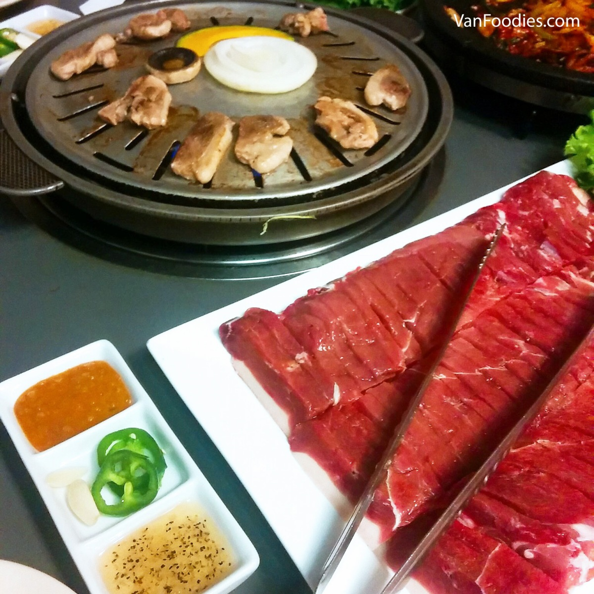 Toe Dam Korean in Coquitlam - BBQ Whole Duck Korean Style