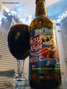 Seasons Greetings Day 24 - Red Racer Fly By Night Porter