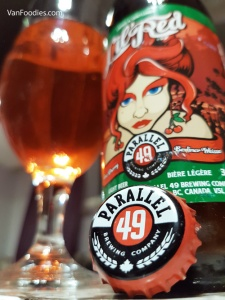 Seasons Greetings Day 7 - Parallel 49 Lil' Red Sour Cherry Berliner Weisse