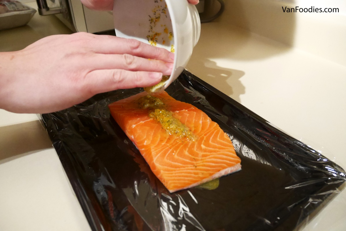 [Recipe] Vodka Citrus Cured Salmon