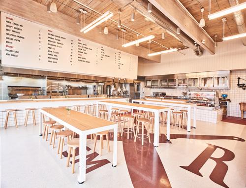 Two Rivers - The Shop Dining Room (Photo Credit Adam Blasberg)