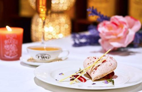 TWG Tea Heart Shaped Pavlova