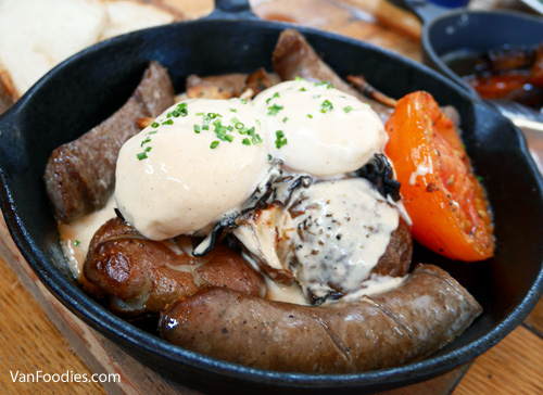 Postmark Stout Sausage Skillet at Belgard Kitchen