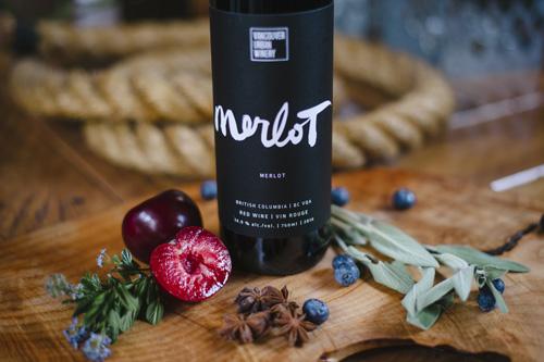 Vancouver Urban Winery Merlot 2014