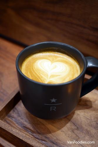 Starbucks Hazelnut Bianco Latte